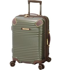 "london fog oxford ii 20"" hardside carry-on luggage, created for macy's"