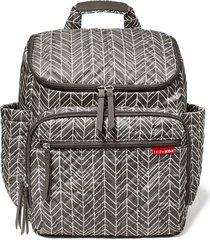 bolsa maternidade skip hop coleção forma backpack