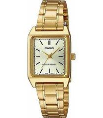 reloj casio casio ltp-v007g-9e dorado para mujer