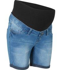 shorts prémaman di jeans (blu) - bpc bonprix collection
