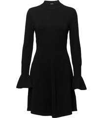 florentina dress gebreide jurk zwart inwear