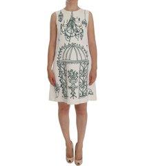 jacquard sicilië print jurk