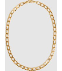 reiss lexi - gold plated wrap necklace & belt in gold, womens