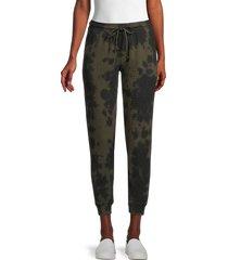 rd style women's tie-dye joggers - dark - size s
