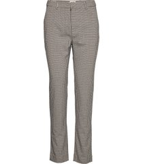 marika trousers pantalon met rechte pijpen bruin twist & tango