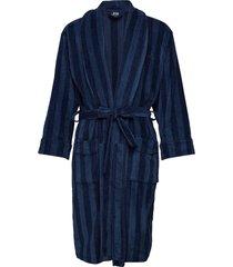 jbs bathrobe morgonrock badrock blå jbs