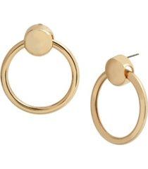 jessica simpson doorknocker earrings