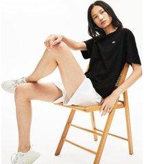 camiseta lacoste regular fit - feminino