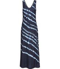 abito lungo effetto batik (blu) - bodyflirt