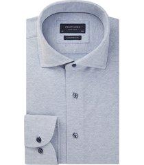 profuomo profumo originale the knitted shirt pprh1a1063 blauw