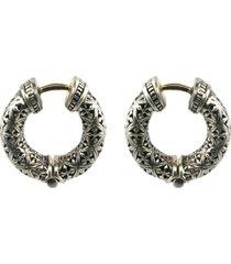 konstantino classics hoop earrings in silver at nordstrom