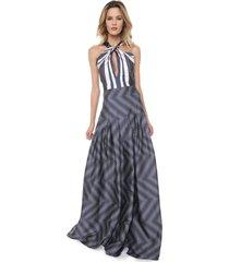 9c68fce4ddab Vestidos - Longos - De Tecido - Azul E Rosa - 6 produtos com até ...