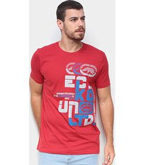 camiseta ecko exclusively masculina - masculino