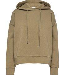 women´s top hoodie trui groen closed