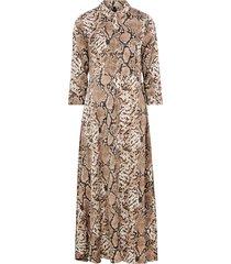 maxiklänning sanima long shirt dress
