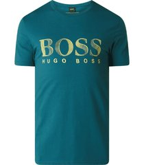 hugo boss heren logo t-shirt - groen