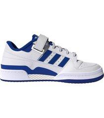 zapatilla blanca adidas originals forum low de hombre