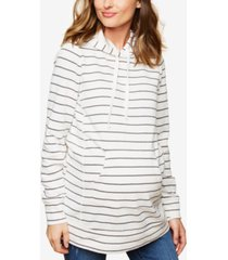 motherhood maternity french terry hoodie