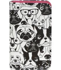 buxton women's multi dog rfid pik-me-up snap card case