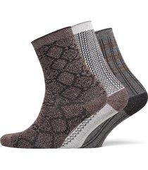 decoy 3-pack sock in box lingerie socks regular socks brun decoy