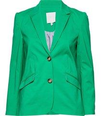 long suit jacket blazer kavaj grön coster copenhagen