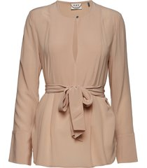 day fan blouse lange mouwen beige day birger et mikkelsen