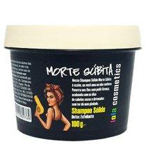 shampoo sólido lola cosmetics morte súbita 100g único