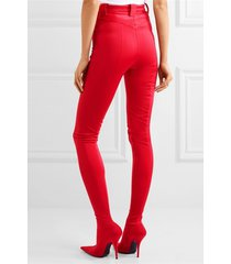 pb211 european trending pants boots  us size 1-13 red