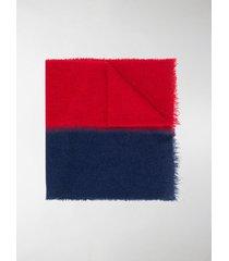 destin colour-block knit scarf