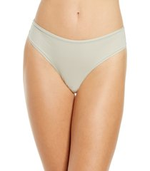 skims fits everybody thong, size large in talc at nordstrom