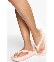 stevige slippers met teenstop, light pink
