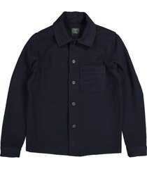 butcher of blue overhemd m2124044 army wool