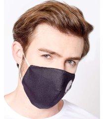 máscara lavável tripla camada com feltro skull emporio alex malha tnt multicolorido