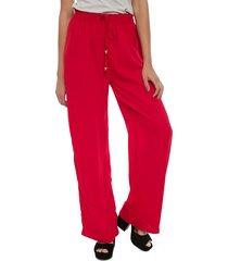 pantalón eclipse meli rojo - calce holgado