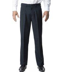 pantalón pinzado azul marino kotting
