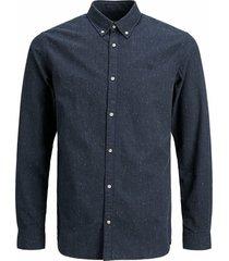 jack & jones overhemd oxford witte details slim fit