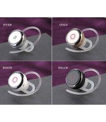 audífonos bluetooth deportivos inalámbricos, mini s008 auriculares audifonos bluetooth manos libres  auriculares de control de voz inteligente (blanco)