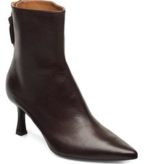 booties 3357 shoes boots ankle boots ankle boots with heel brun billi bi