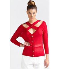 sweter marciano z ramiączkami