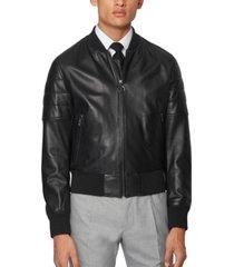 boss men's gipon regular-fit bomber jacket