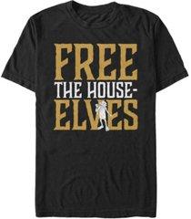 fifth sun harry potter men's dobby free the house-elves short sleeve t-shirt