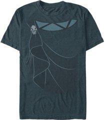 disney men's hercules hades robes costume short sleeve t-shirt