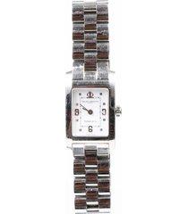 baume & mercier tiffany & co. stainless steel watch silver sz: