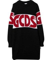 gcds mini black dress