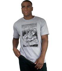 camiseta ventura skate bear cinza mescla - kanui