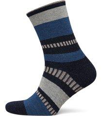 daphne block lingerie socks regular socks blå becksöndergaard