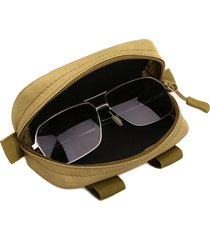 nylon outdoor tactical molle borsa camouflage occhiali borsa occhiali per uomo