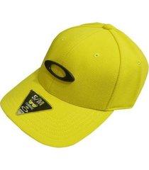 boné oakley tincan cap blazing yellow