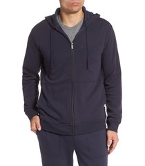 men's ugg gordon zip hoodie, size large - blue