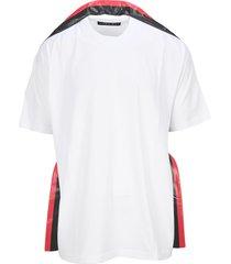 y/project stripe trim t-shirt